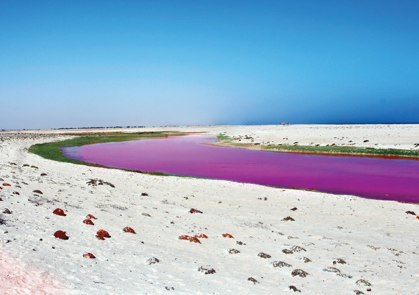 If you are heading south Do Not miss the Pink Beach