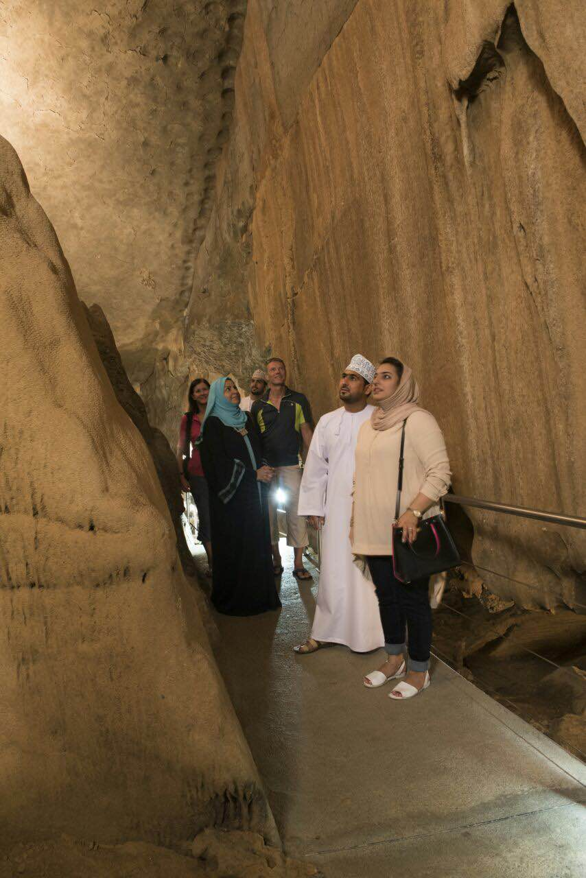 School children first guests at newly opened Al Hoota Cave in Oman